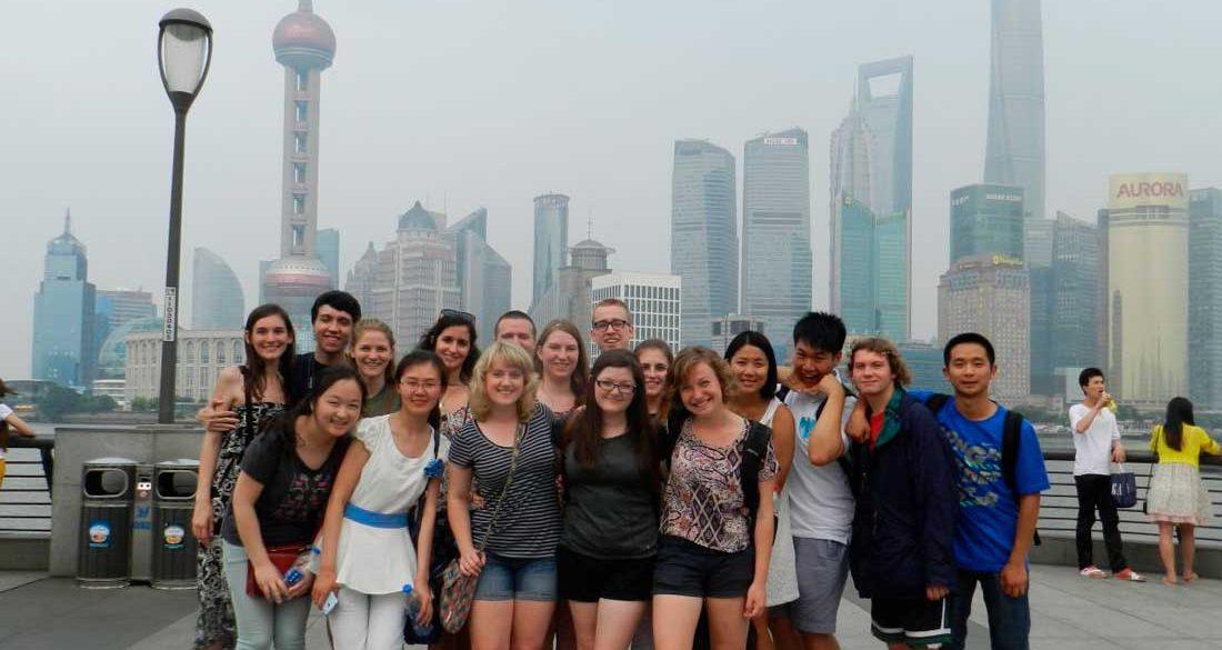 International students Shanghai University