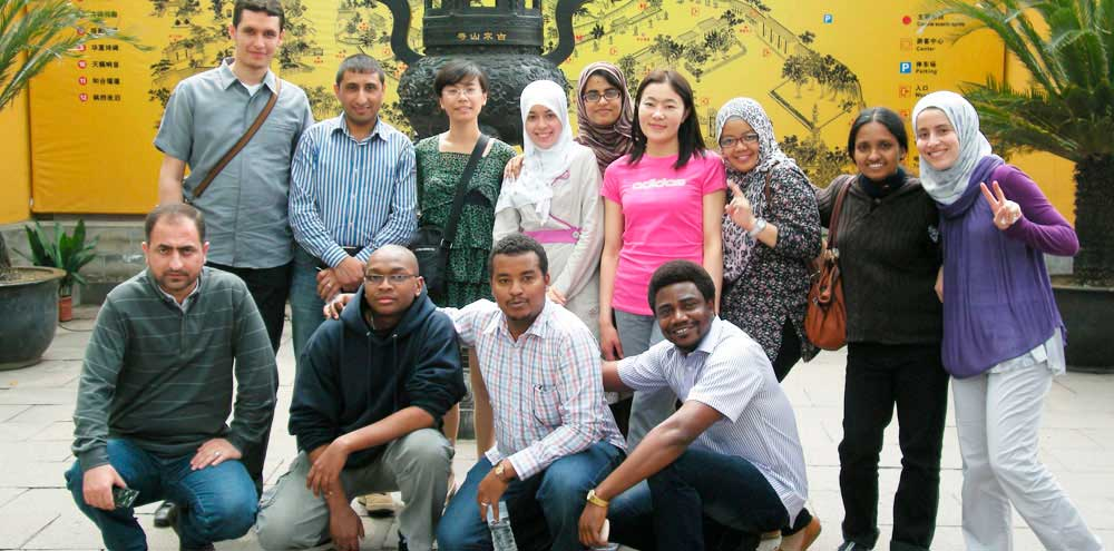 China Pharmaceutical University students