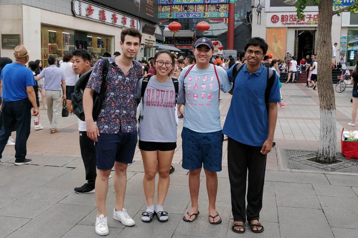 escogiendo estudiar en china