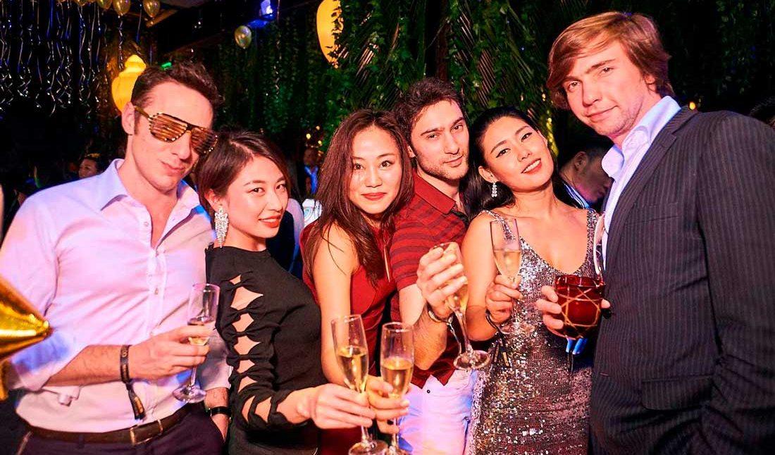 Вечеринки в Шанхае