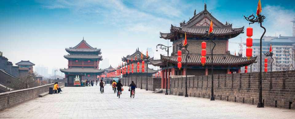 Сиань места для посещения в китае