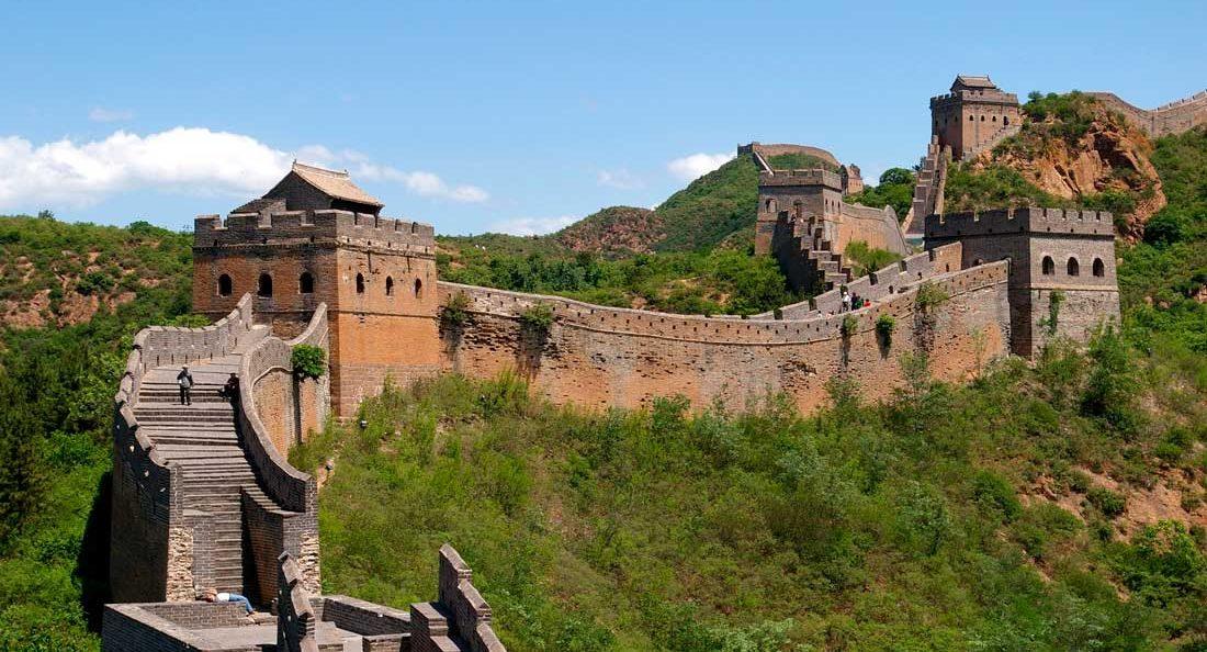 Великая стена места для посещения в китае