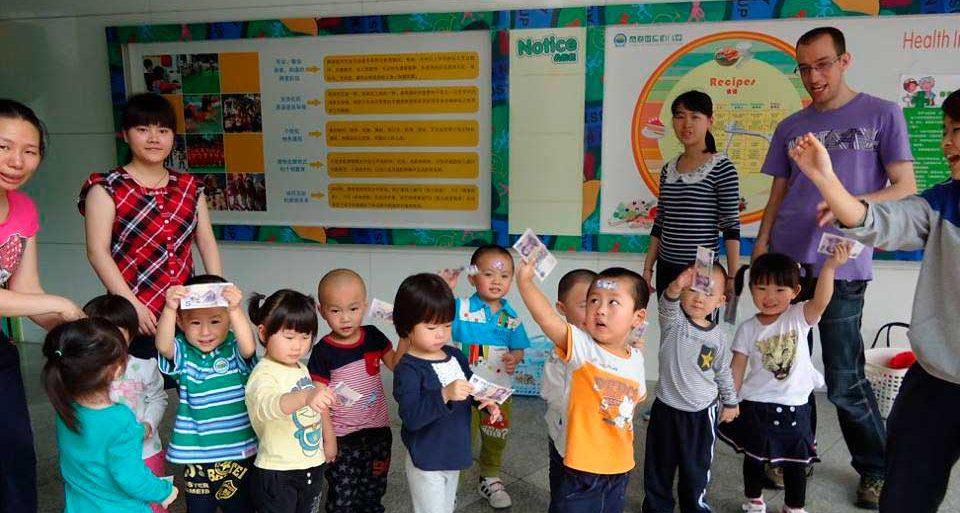 Работа в Китае. Вакансия преподавателя английского в детском саду.