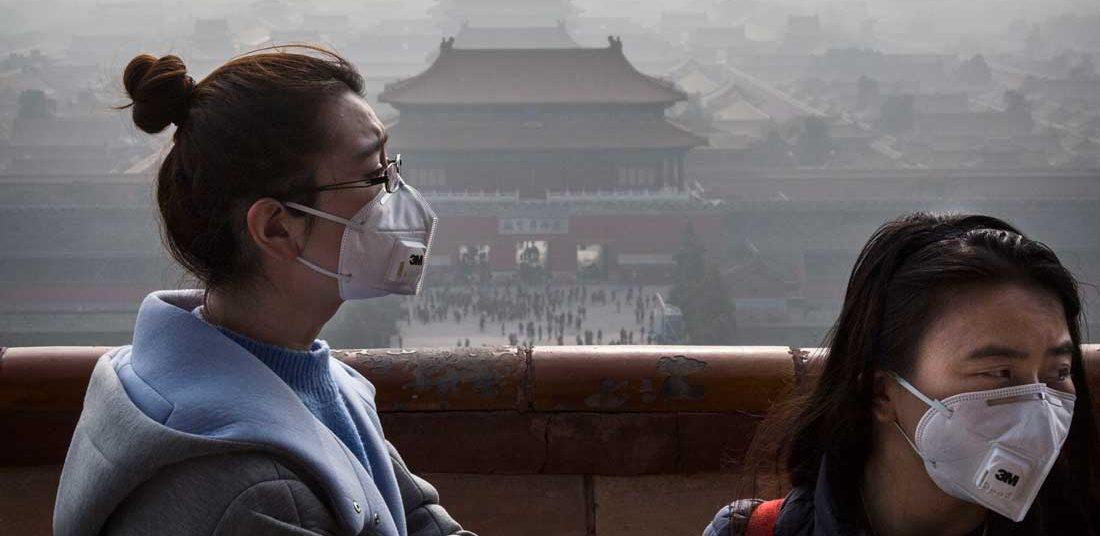 качество воздуха Китай