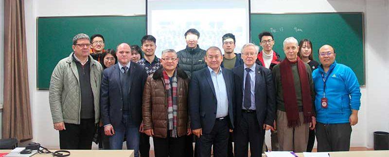 Шанхайском университете финансов и экономики