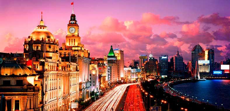 Шанхайская набережная: Бунд
