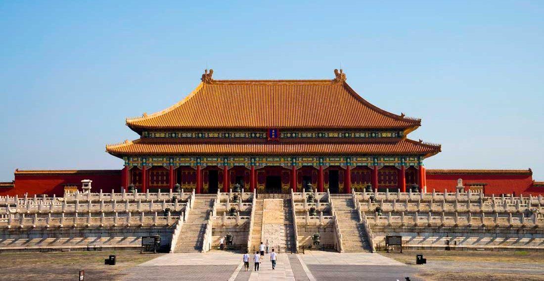 Туристические места в Китае Запретный город