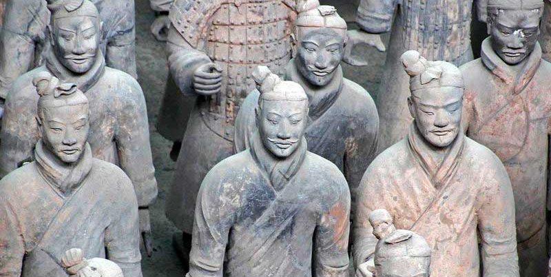 Туристические места в Китае Терракотовая армия