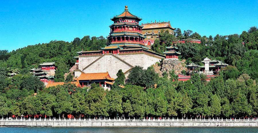 Туристические места в Китае Летний дворец