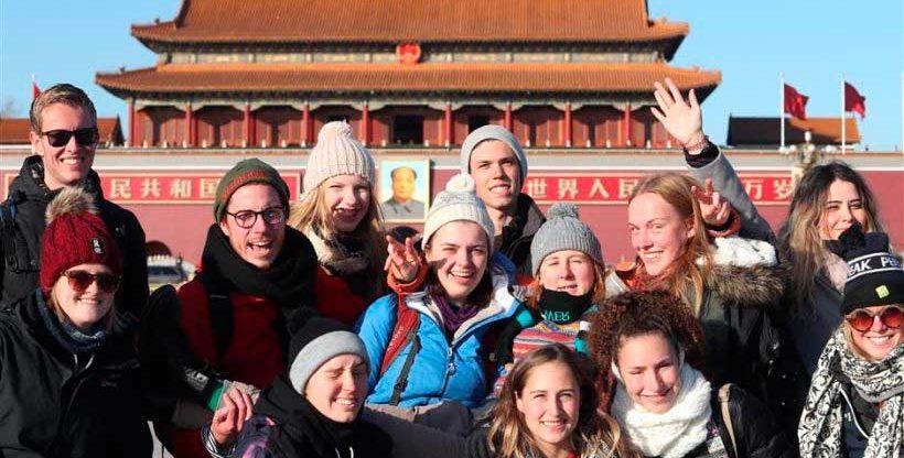 Туризм в Китае для иностранных студентов