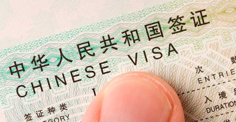 visa de estudiante a China