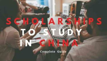 Scholarships to study in China